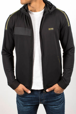 'Saggytech' Hooded Sweater Jacket