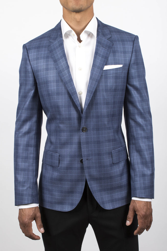 Windowpane Jacket