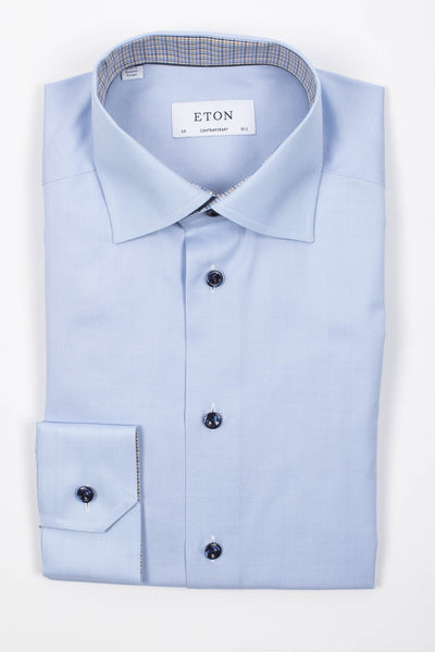 Herringbone Shirt With Trim Details