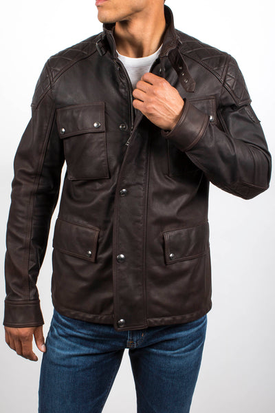 Woodbridge Leather Jacket