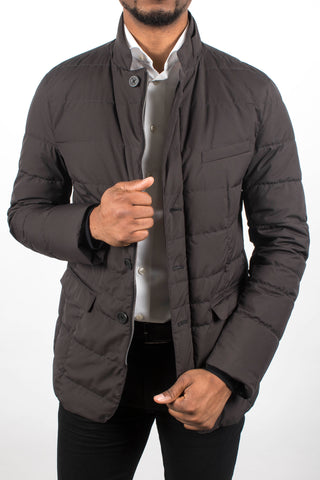 Quilted Blazer Jacket