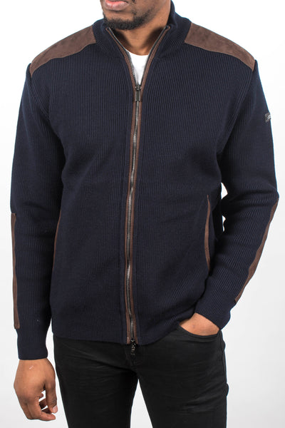 Paneled Sweater