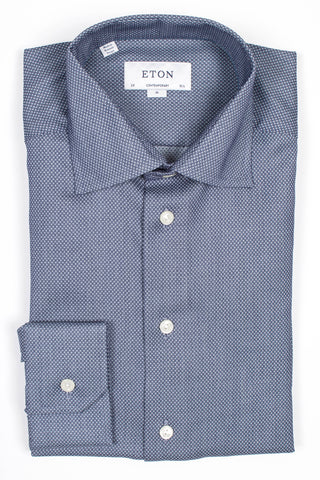 Geometric Twill Shirt