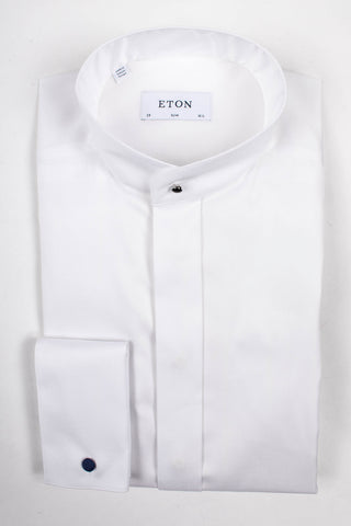 Evening Shirt with Mandarin Collar