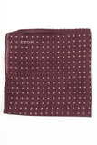 Dotted Print Pocket Square