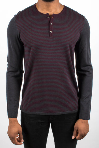 Color Block Henley