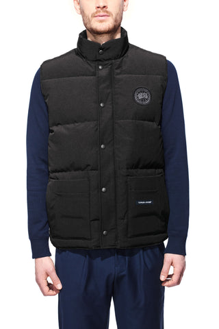 canada goose gilet black label