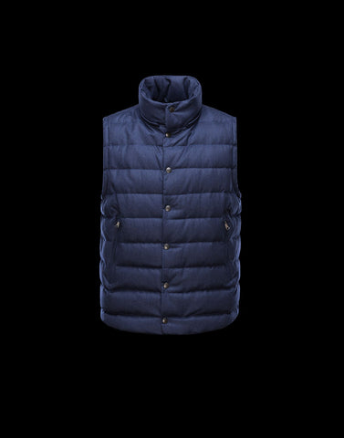 Jean Christophe Padded Wool Vest