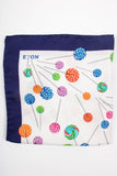 Swril Lolipop Print Pocket Square