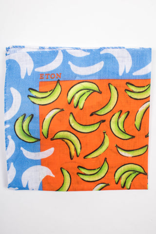 Banana Print Pocket Square
