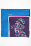 Paisley Linen & Silk Pocket Square