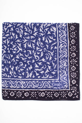 Batik Printed Pocket Square