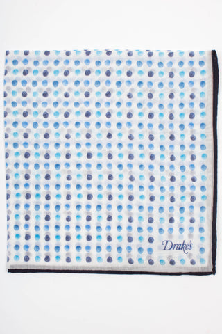 Spot Printed Pocket Square