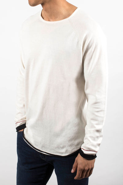 Double Scoop Knit Shirt