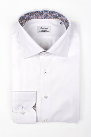 Solid Shirt with Contrast Details