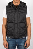 'Chase' Hooded Vest