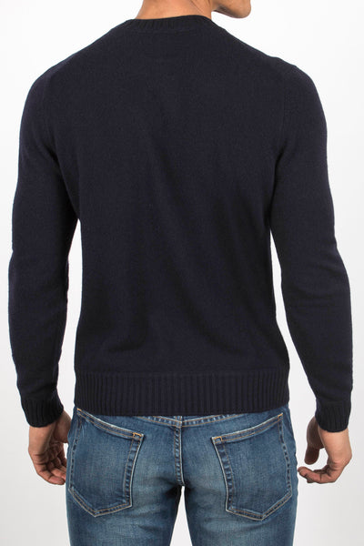 Felted Crew Neck Sweater