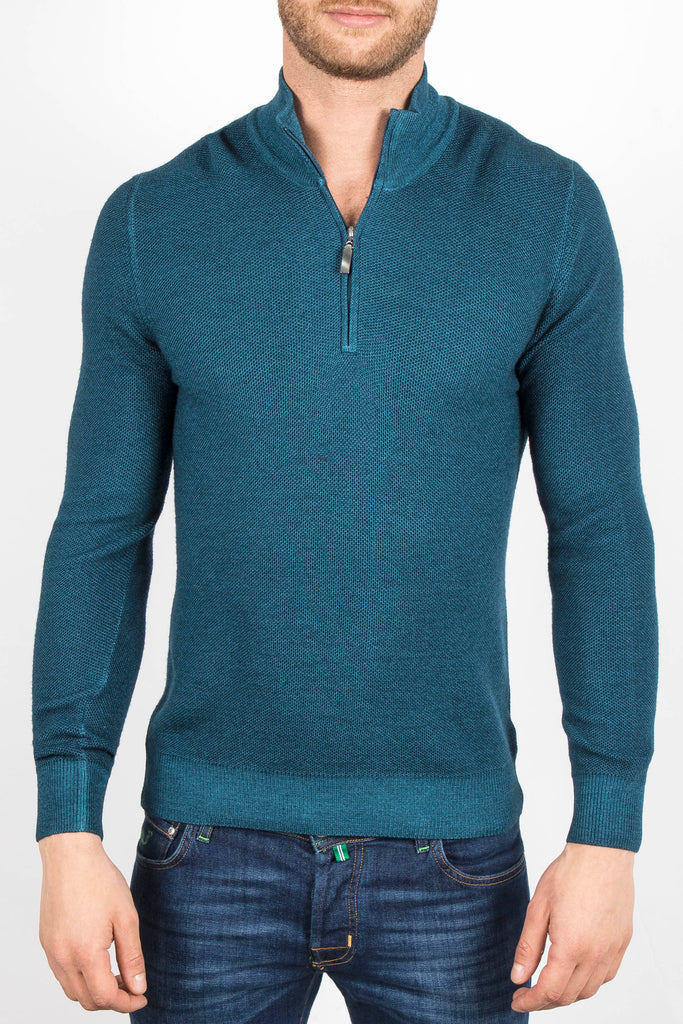 Half Zip Up Sweater