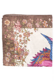 Simurgh Bird Print Pocket Square