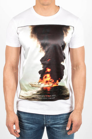 'Yatch Burns' T-Shirt