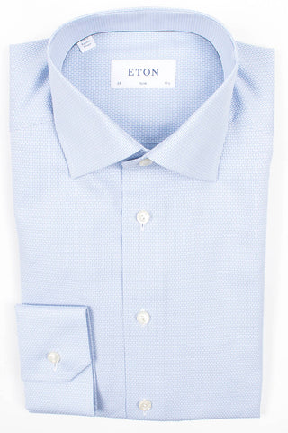 Geometric Cotton-Tencel Shirt