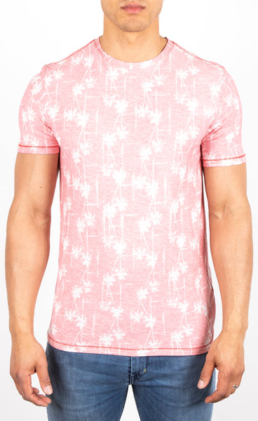 Botanical Pattern Print T-Shirt