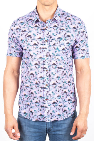 Short-Sleeve Printed Shirt