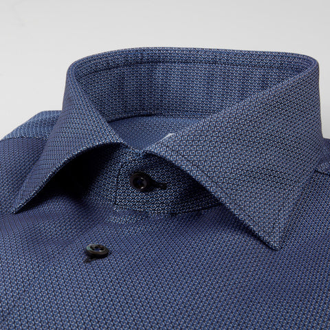 Fitted Body - Micro Patterned Shirt