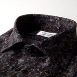 Fitted Body - Leaf Patterned Shirt