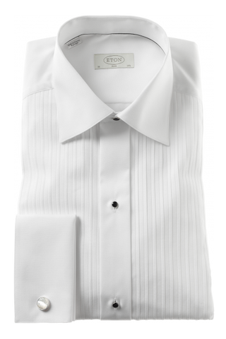 Plisse Formal Slim Shirt