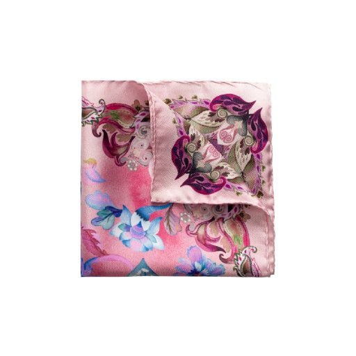 Flowers Pocket Square