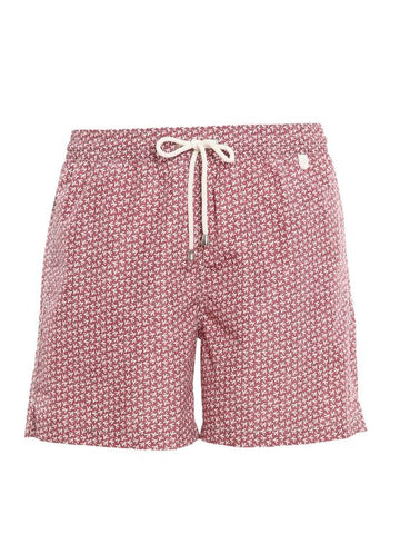 Patterned Print Swimshorts