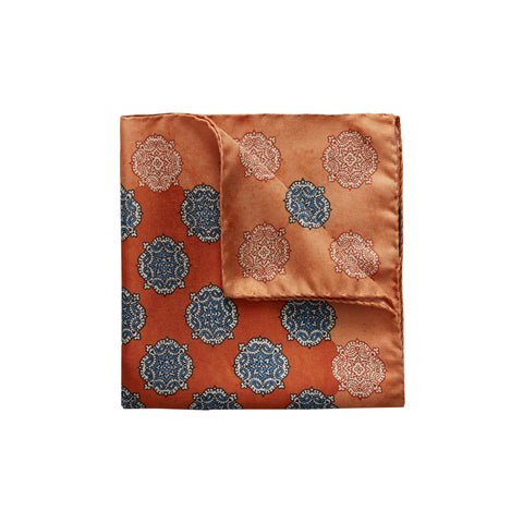 Paisley Print Pocket Square