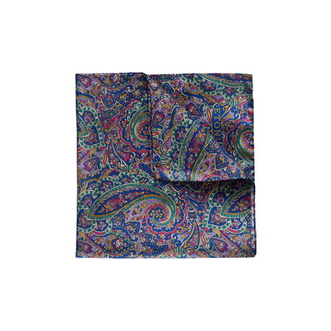 Multicoloured Silk Pocket Square