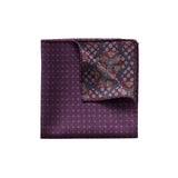 Geometric & Dotted Pocket Square