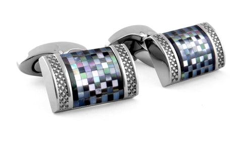 D-Shaped Cufflinks
