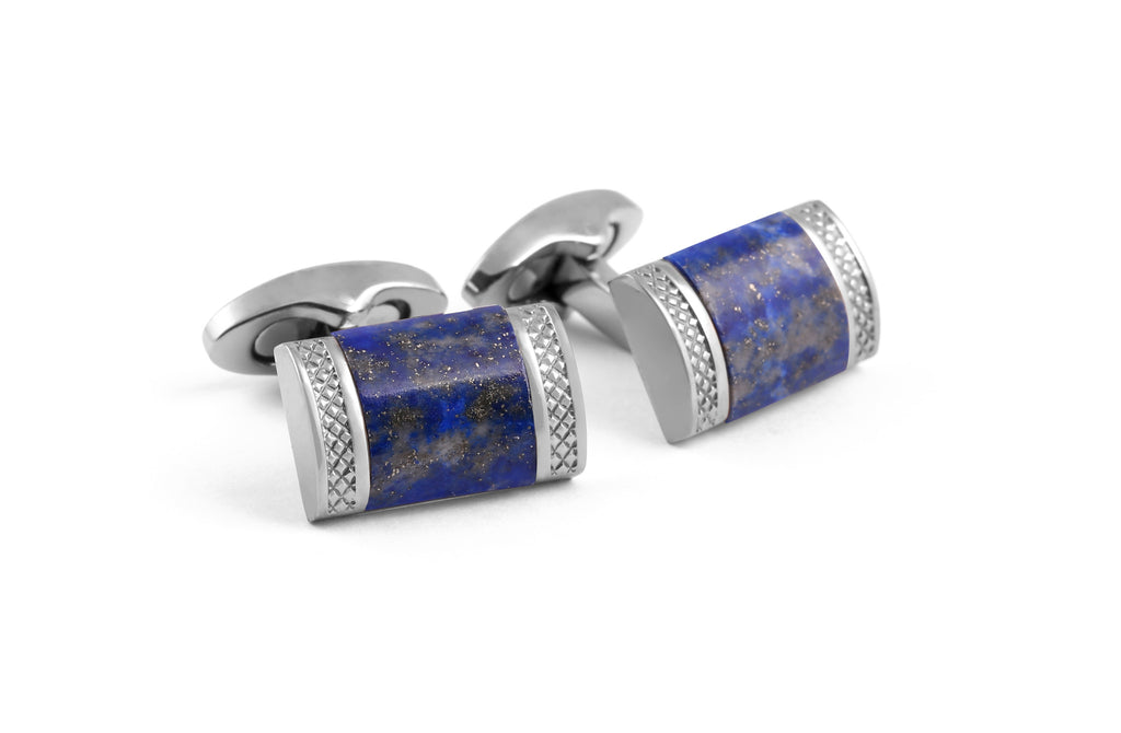 Rectangle D-Shape Cufflinks