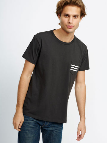 Waves Pocket T-Shirt
