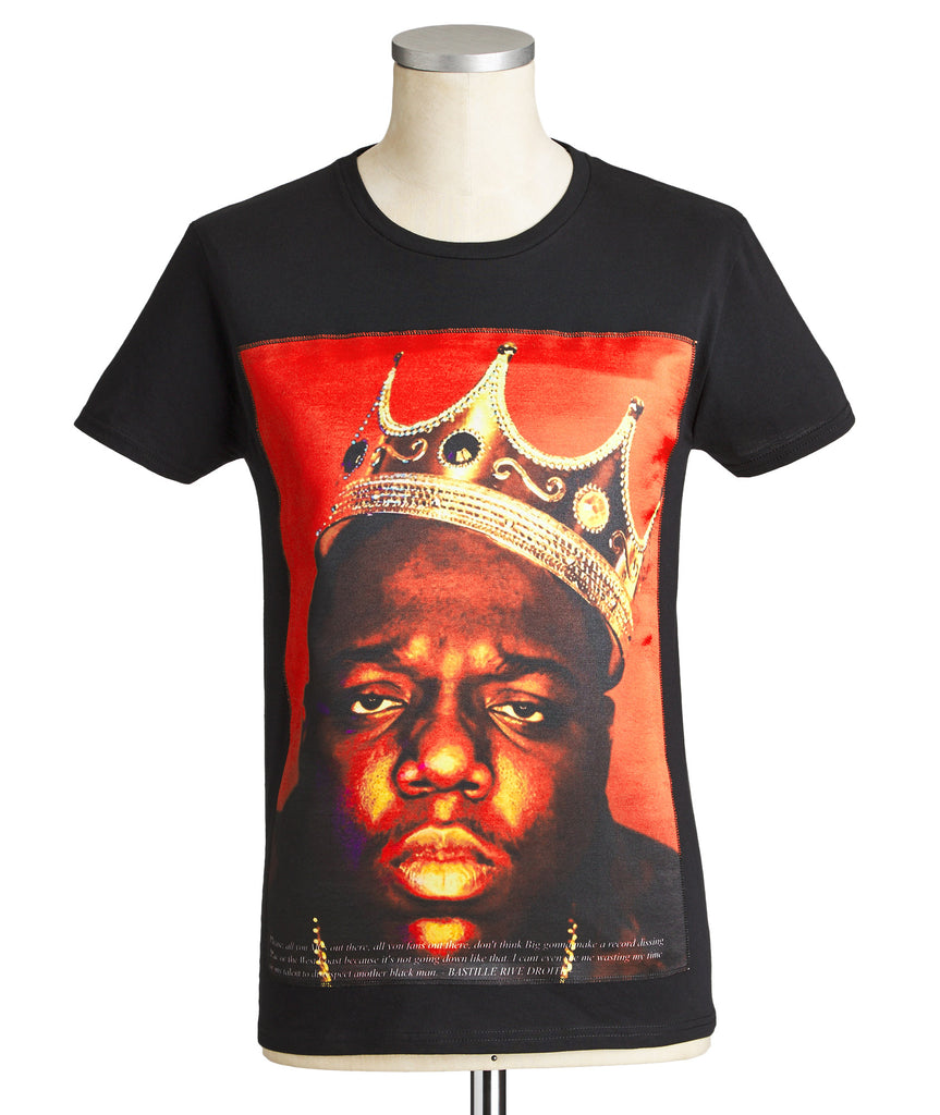 Crowned Biggie Printed T-Shirt