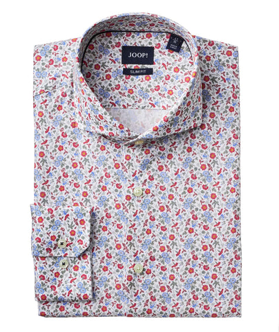 Contemporary fit - Floral Jacquard Shirt