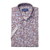 Paisley Linen Resort Shirt