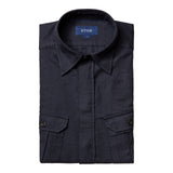 Four-Pocket Overshirt
