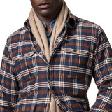 Checked Four-Pocket Overshirt