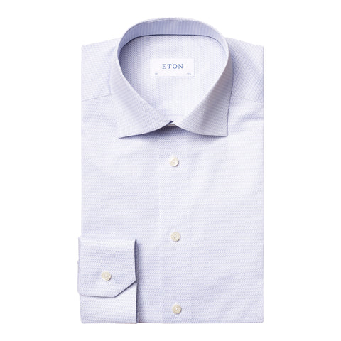 Slim Fit - Music Note Print Shirt