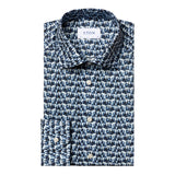 Contemporary Fit - Glass Print Fine Twill Shirt