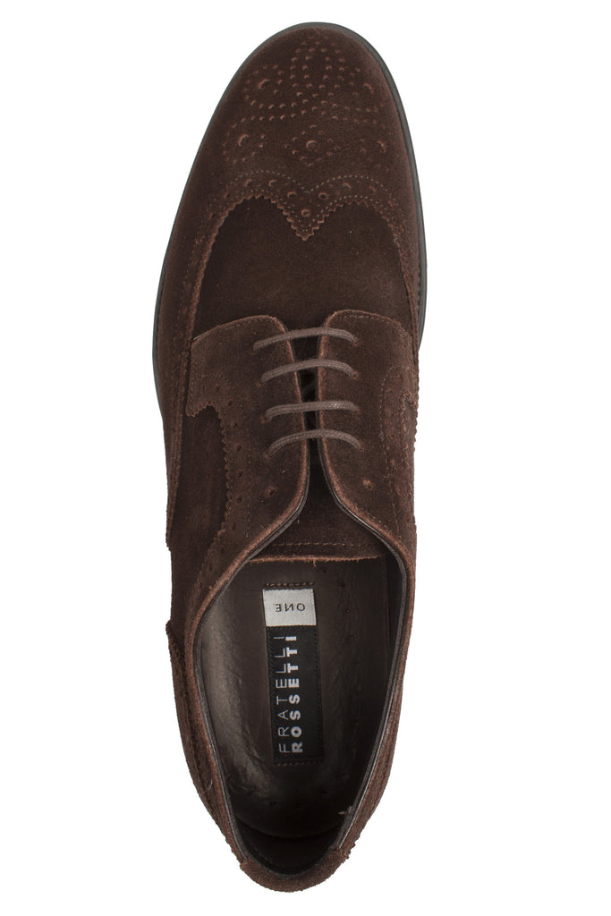 Suede Derby Dress Shoe