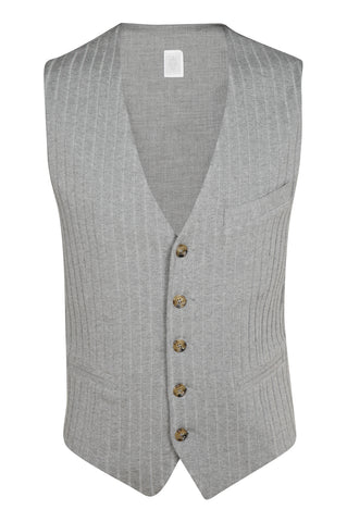 Ribbed Cotton Vest
