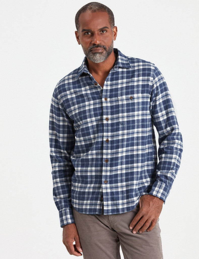 Stretch Seaview Flannel Shirt