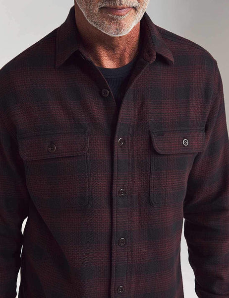 Vintage Twill Flannel Shirt