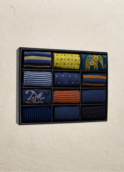 12 Pack Assorted Sock Set